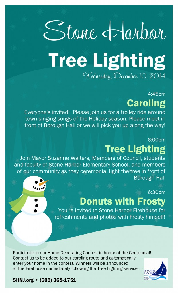 Flyer for tree lighting-page-0