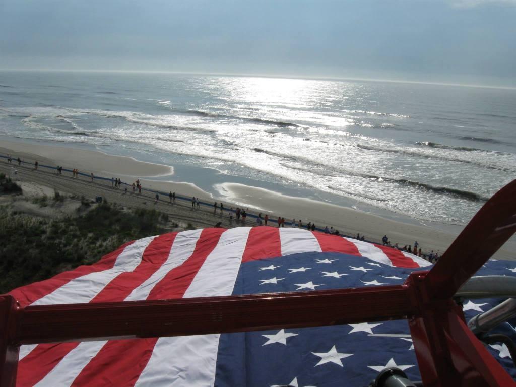 Beach ceremony_aerial