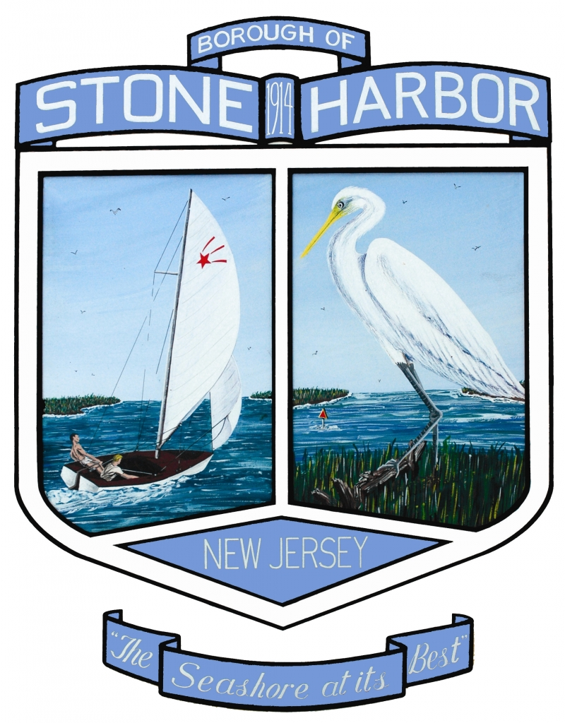 Stone Harbor art-blue Transparent back