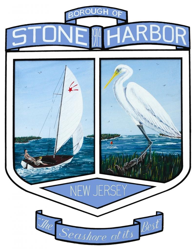 Stone Harbor art-blue Transparent back