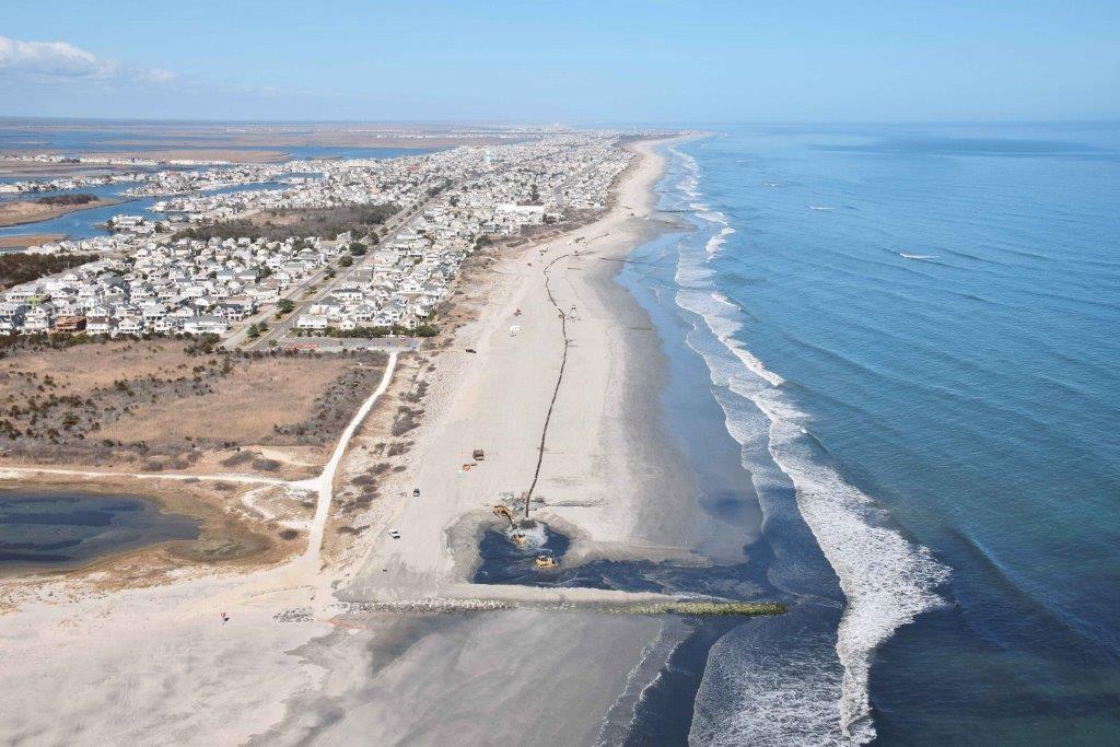 Avalon Stone Harbor Beach Replenishment Update 4 26 17