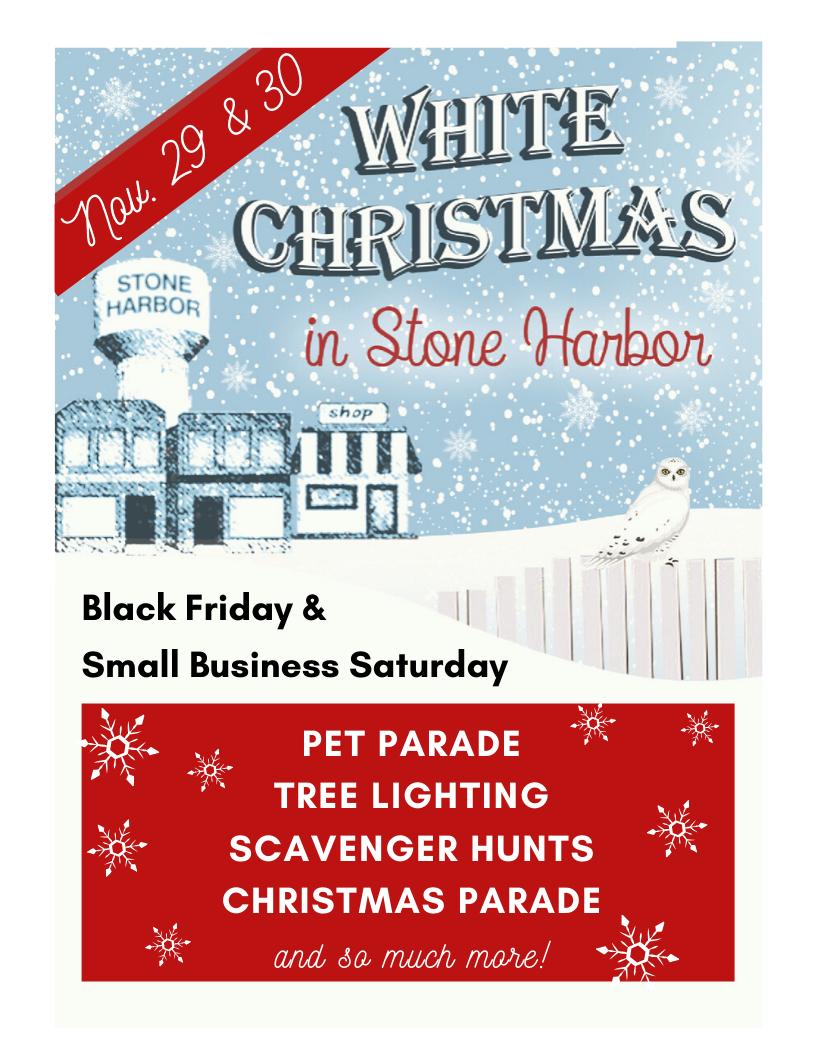 White Christmas in Stone Harbor